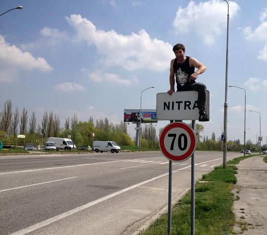 Štefan je z Nitry.