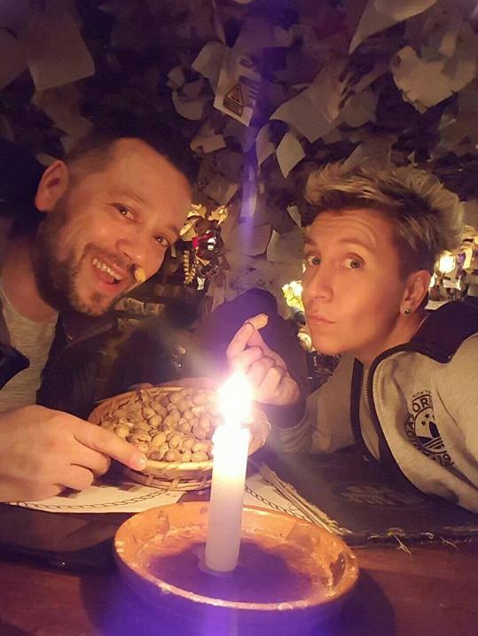 Romantika při svíčkách