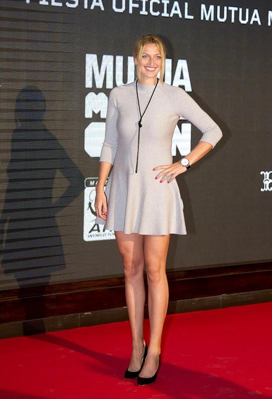 Kvitová našla svůj styl v minimalismu.