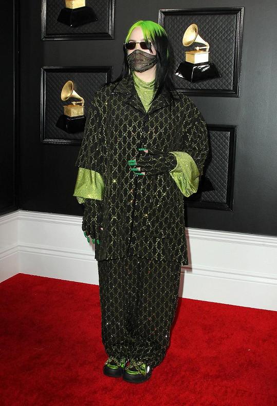Billie proslula tím, že nosí zásadně volné oblečení.