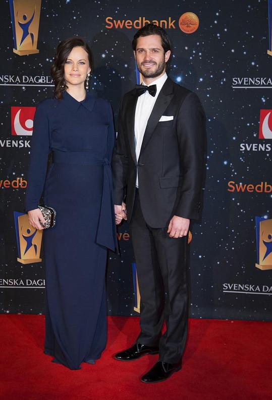 Sofia a Carl Philip tvoří krásný pár.
