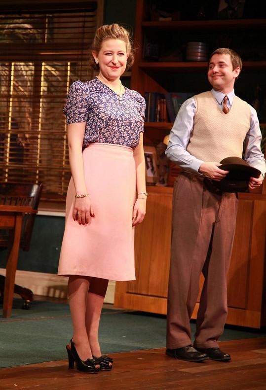 Sophie von Haselberg rovněž hraje na Broadwayi.