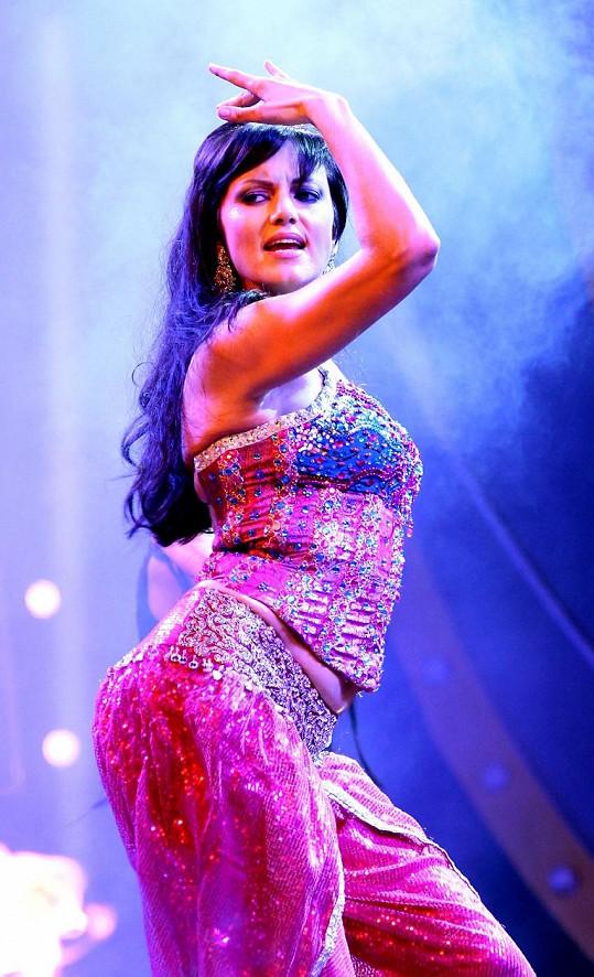 V Bollywoodu musí herečky hlavně dobře tančit.