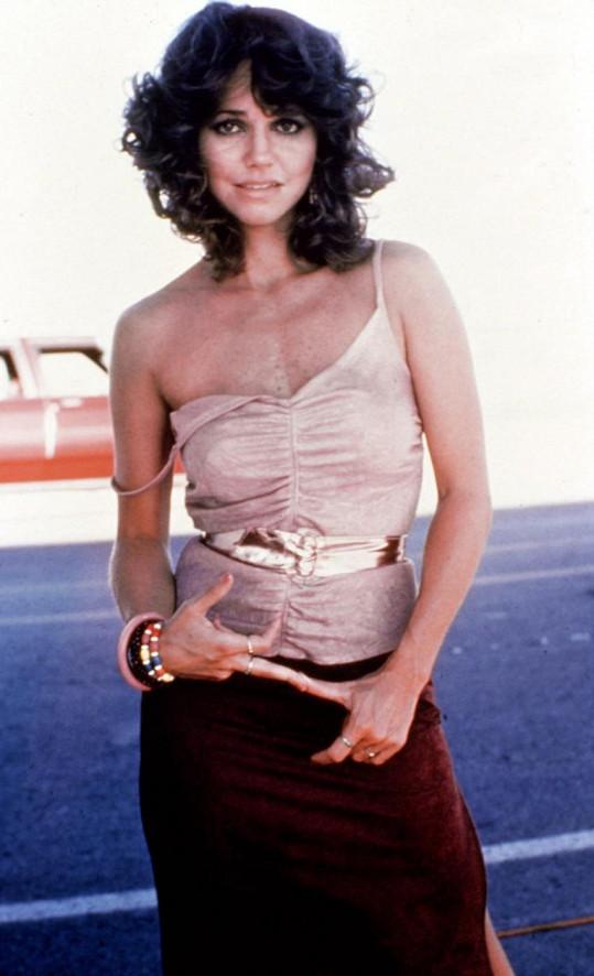 Takhle Sally Field vypadala před 30 lety.