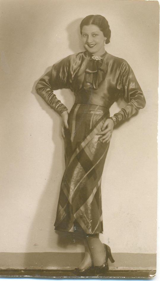 Ljuba Hemanová byla také krásnou a slavnou ženou