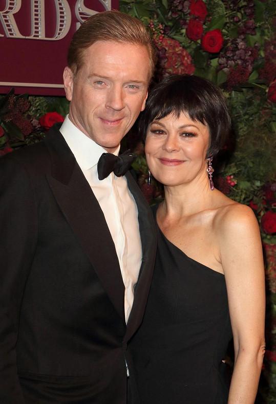 Helen McCrory s manželem Damianem Lewisem.