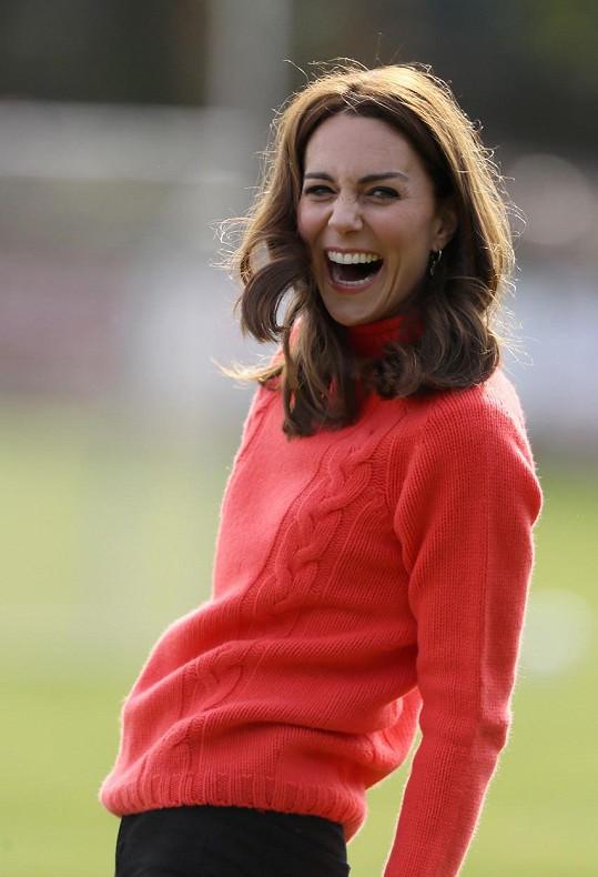 Autorkou nejnovějších snímků prince Louise je vévodkyně Kate.