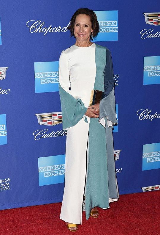 Laurie Metcalf letos vyrazila na filmový festival v Palm Springs.