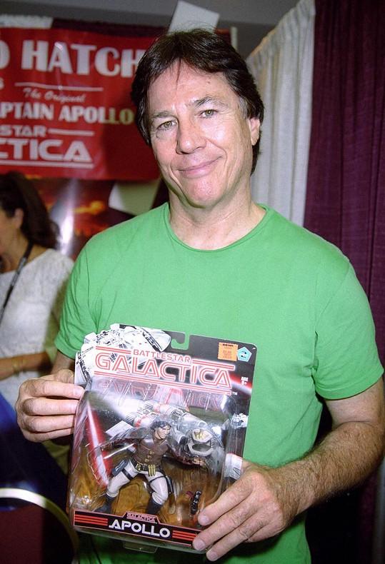 Richard Hatch s vlastní seriálovou hračkou