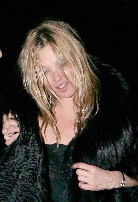 Kate Moss byla kdysi královnou večírků.