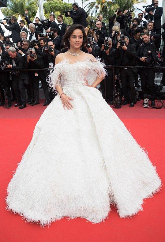 Takhle to letos herečce slušelo na filmovém festivalu v Cannes.
