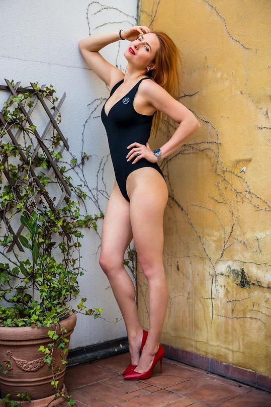 Romana má díky sportu skvělou figuru.