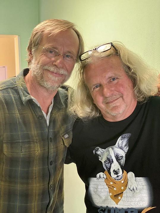Karel Roden s režisérem F. A. Brabcem