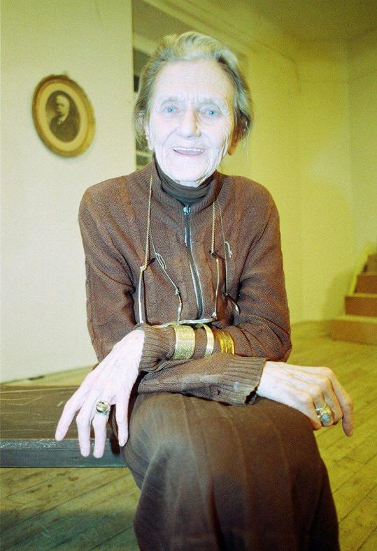 Letos 12. září uplynulo 102 let od narození herečky Valerie Kaplanové.