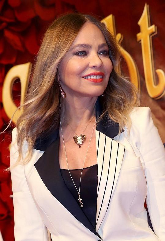 Italská herečka zavítala k našim sousedům.