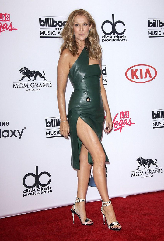 Céline Dion předvedla luxusní postavičku.