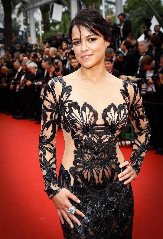 Michelle Rodriguez je známá z filmů Rychle a zběsile, Resident Evil, Avatar nebo seriálu Ztraceni.