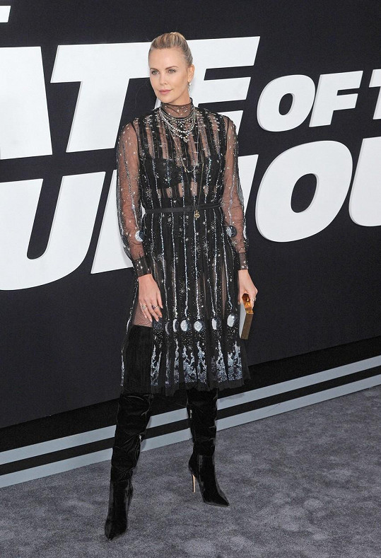 Oscarová herečka Charlize Theron