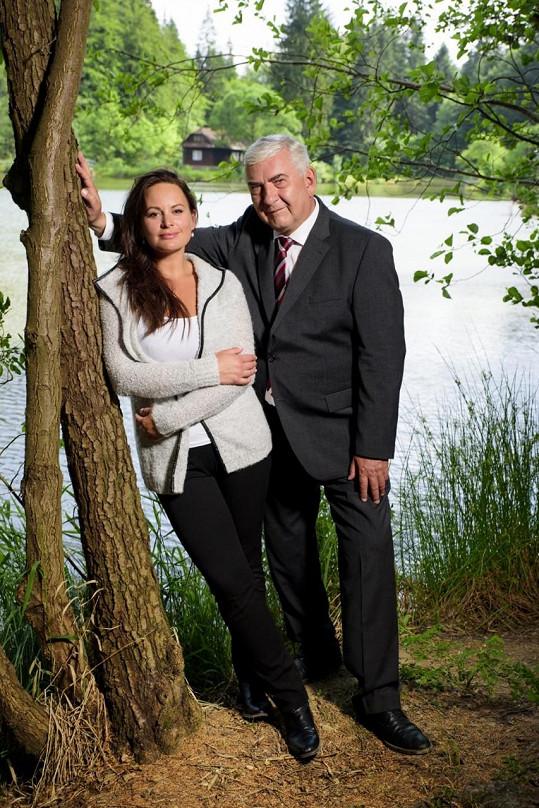 S Jitkou Čvančarovou v seriálu Doktor Martin