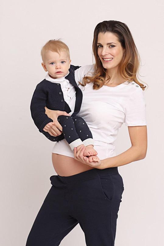 Eva s ročním synem Adrianem