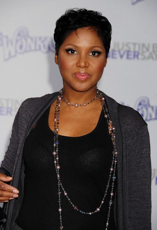 Zpěvačka je ikonou R&B.