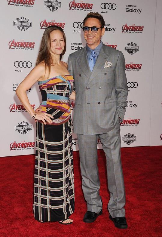 Robert Downey Jr. s manželkou Susan