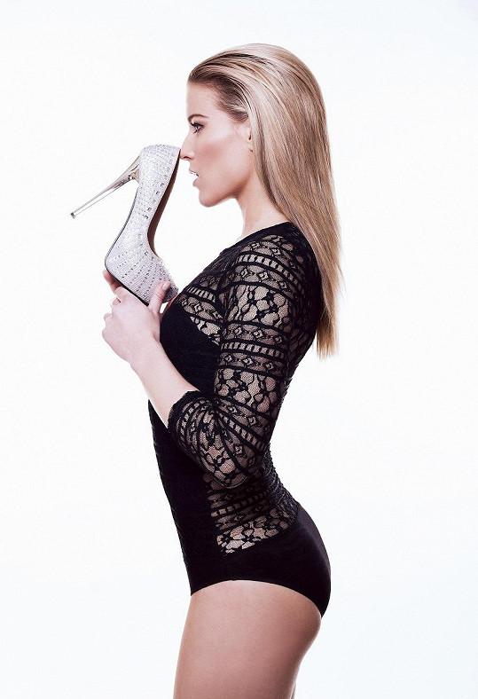 Michaela Gemrotová má za sebou první sexy focení.
