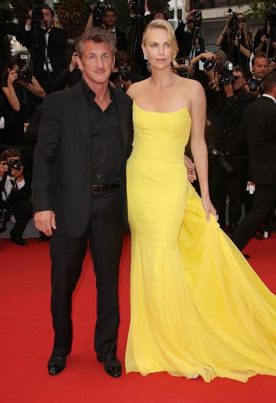 Sean Penn se letos rozešel s Charlize Theron