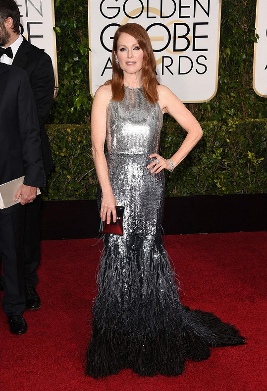 Julianne Moore a Givenchy v roce 2015