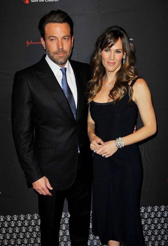 Ben a Jennifer se počátkem října rozvedli.
