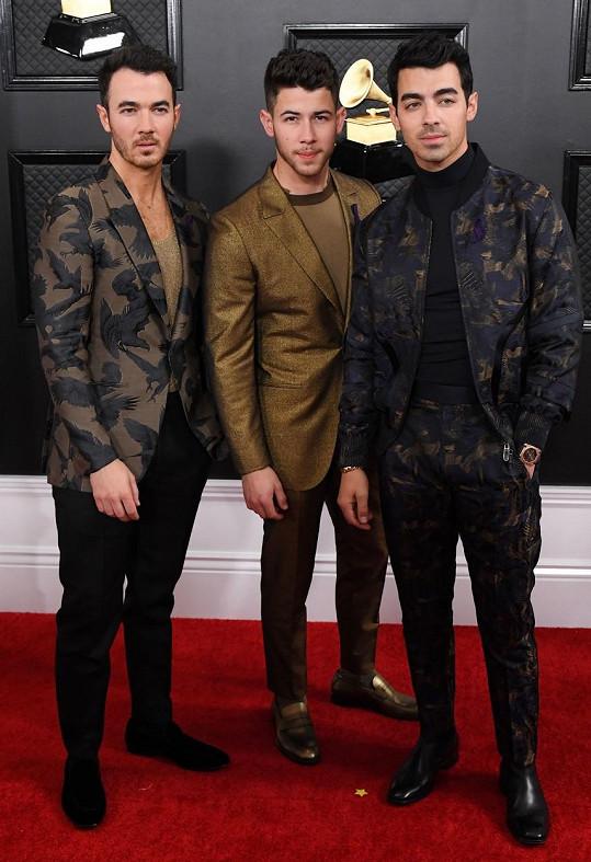 Bratři Kevin, Nick a Joe Jonasovi