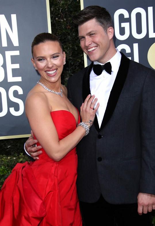 Herečka se provdala za komika Colina Josta.