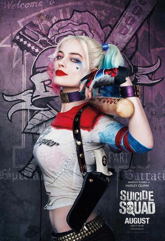 Harley Quinn v podání Margot Robbie ve filmu Sebevražedný oddíl