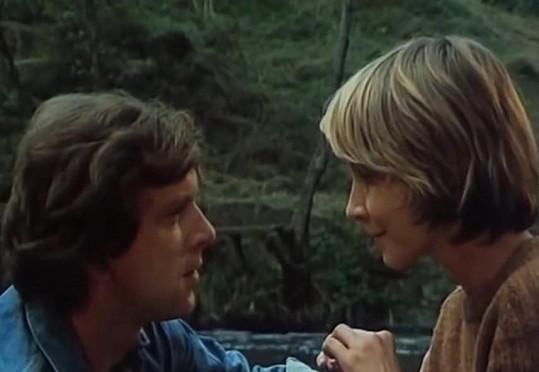 S Jaromírem Hanzlíkem ve filmu Léto s kovbojem