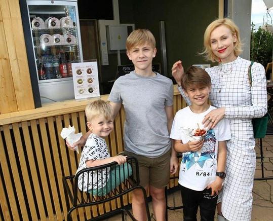 Herečka Vlastina Svátková tuší, že děti by měly z dalšího dne volna obrovskou radost.