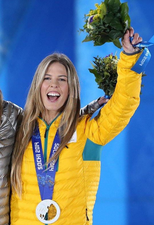 Torah Bright získala v Soči stříbrnou medaili. Teď si stejně jako ve Vancouveru brousí zuby na zlato.