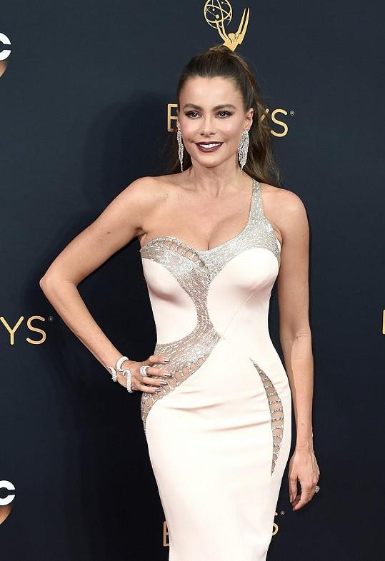 Sofia Vergara na udílení cen Emmy