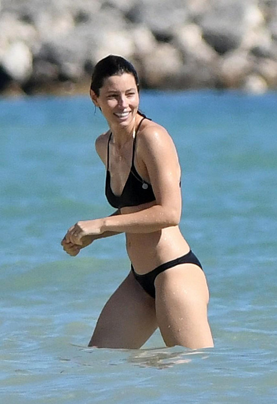 Jessica Biel má sexy postavičku.