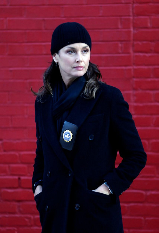 Seriálové role jí sedí, už léta působí v kriminálce Spravedlnost v krvi.