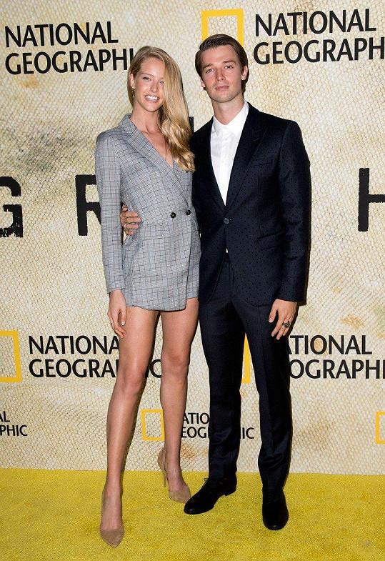 Patrick Schwarzenegger s přítelkyní Abby Champion