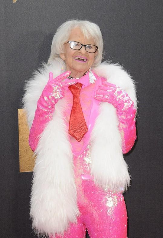 Baddie Winkle dostala pozvánku na udílení MTV Movie Awards.