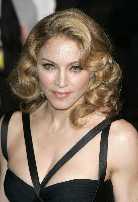 Madonna také nebyla žádná světice.