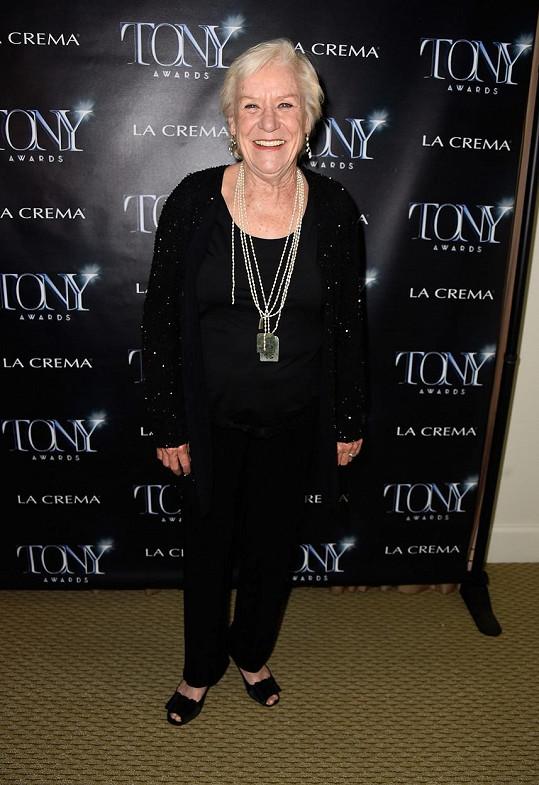 Barbara Tarbuck na loňském udílení cen Tony