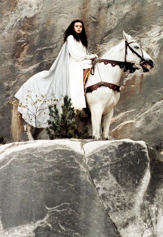 Libuška Šafránková v pohádce Třetí princ (1982)