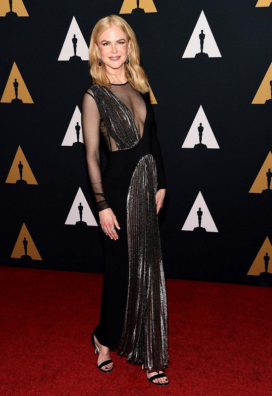 Nicole Kidman už jednoho Oscara má.