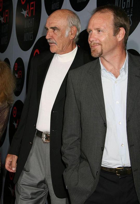 Sean Connery se synem Jasonem, který promluvil o tom, jak jeho otec skonal.