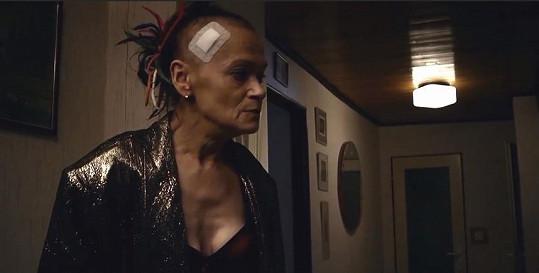 Yvetta Kornová byla v seriálu Stopy života k nepoznání.