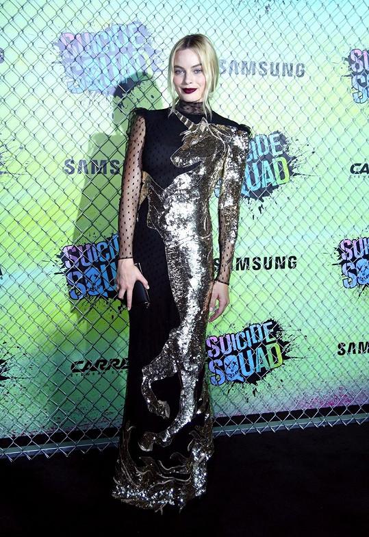 Margot Robbie vsadila na extravaganci