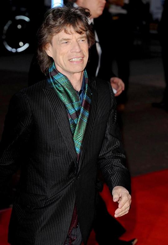 Mick Jagger má celkem osm dětí s pěti ženami.