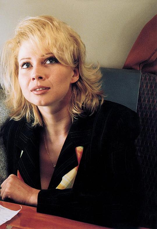 Tina v roce 2000, kdy moderovala na Primě.